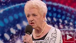 No regrets for 80 year old on Britain's Got Talent